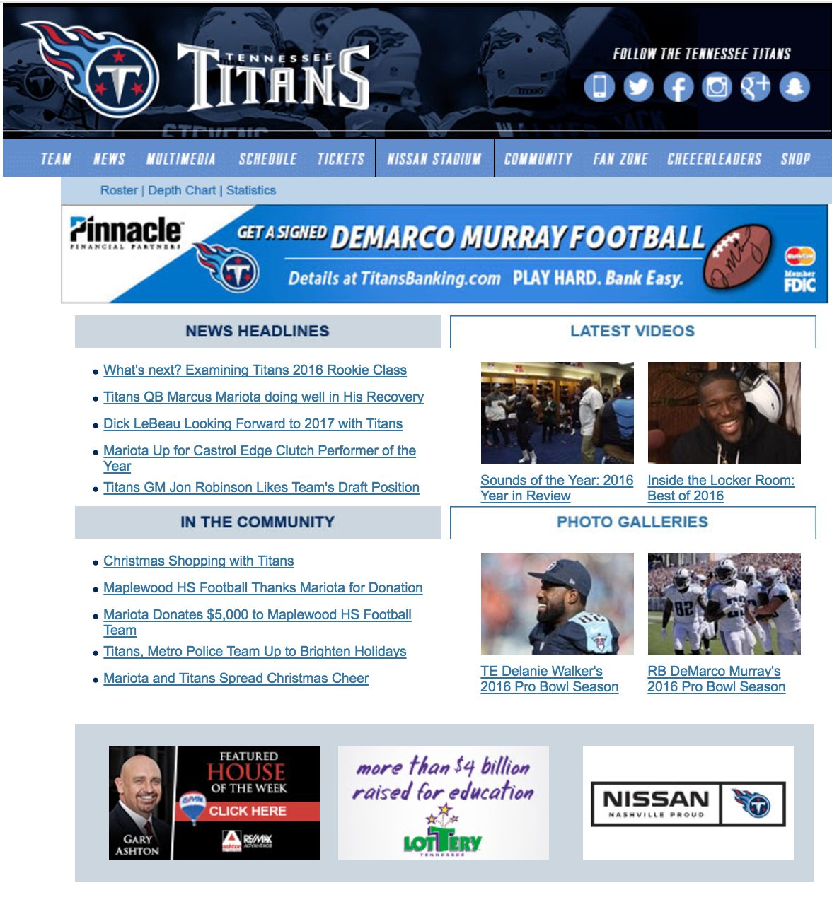 Titans Featured Home of The week