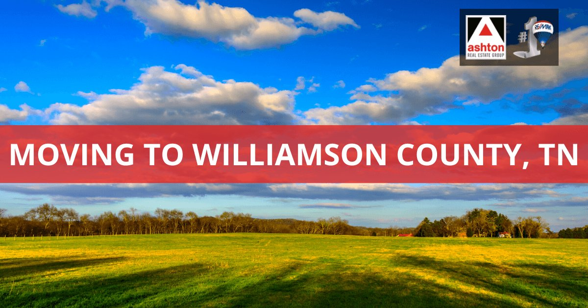 Moving to Williamson County, TN Living Guide