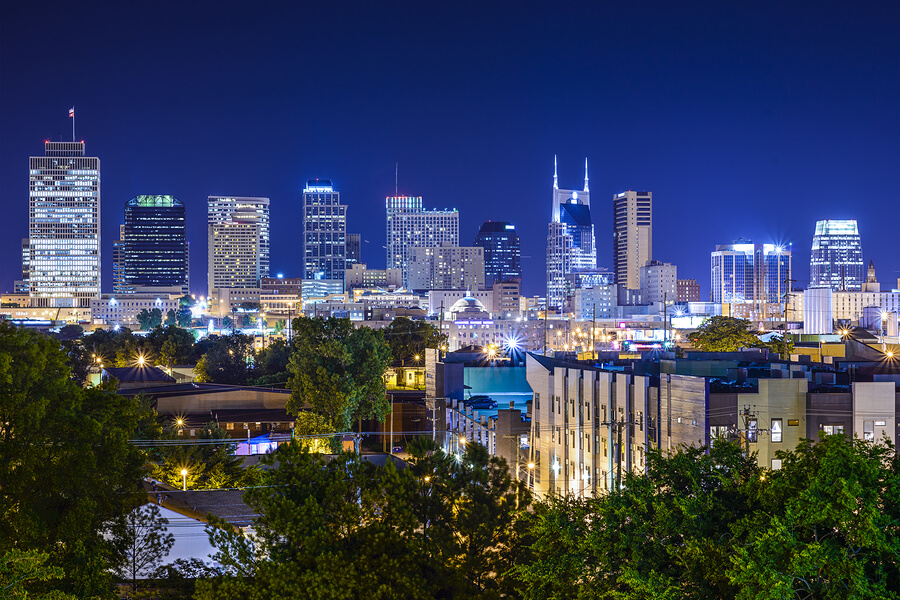 Nashville One of the 13 Hottest Cities in 2016