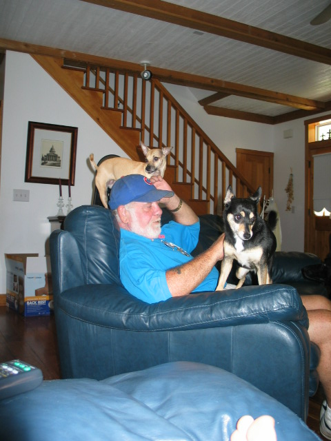 Buffy, dad and chalupa