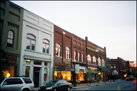 Downtown historic franklin tennessee