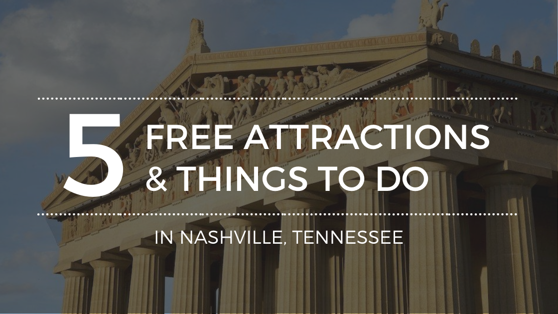 Best Things To Do In Nashville Without Spending Money