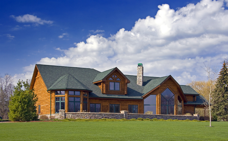 Search the nashville area 39 s coolest log homes for sale for House plans nashville tn