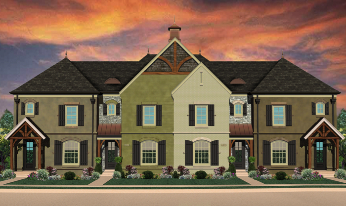 Boost Commons Townhomes Nashville