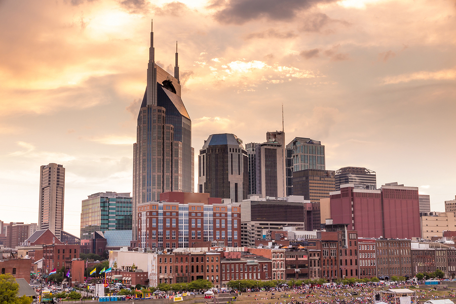 Nashville Skyline Ranked Among America's Best